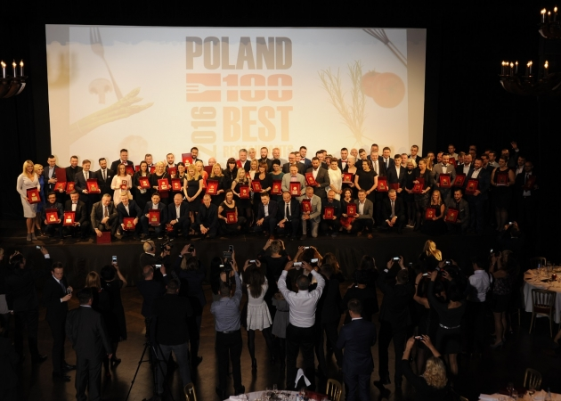 POLAND 100 BEST RESTAURANTS AWARDS 2016