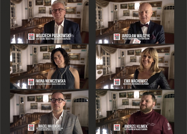 Gala Poland 100 Best Restaurants Awards 2019 - Wywiady, impresja filmowa.